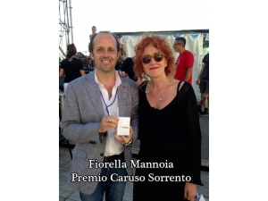 "Fiorella Mannoia wears the fragrance ""Assaje"""